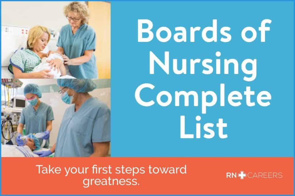 Complete List of Boards of Nursing