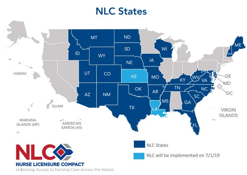 Nurse Licensure Compact (NLC)