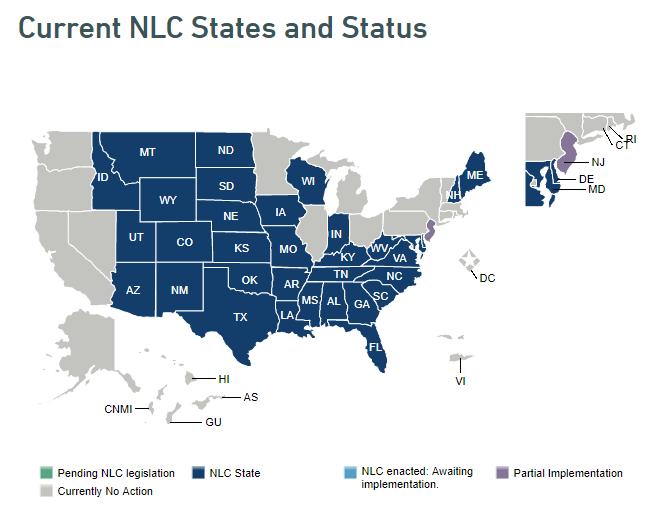 Nursing Compact Map 1-12-21